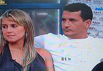 Marcelo Silva e Fernanda Cunha no programa de Sônia Abrão em 21.11.2008