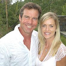 Dennis Quaid e a mulher, Kimberly Buffington