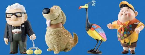Personagens de 'Up', da Disney/Pixar