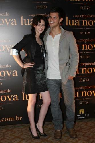 SP: Kristen Stewart e Taylor Lautner