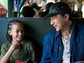 Jaden Smith e Jackie Chan