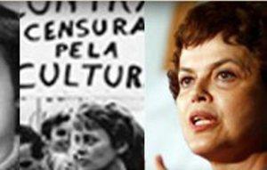 Norma Bengell (à esquerda) e Dilma