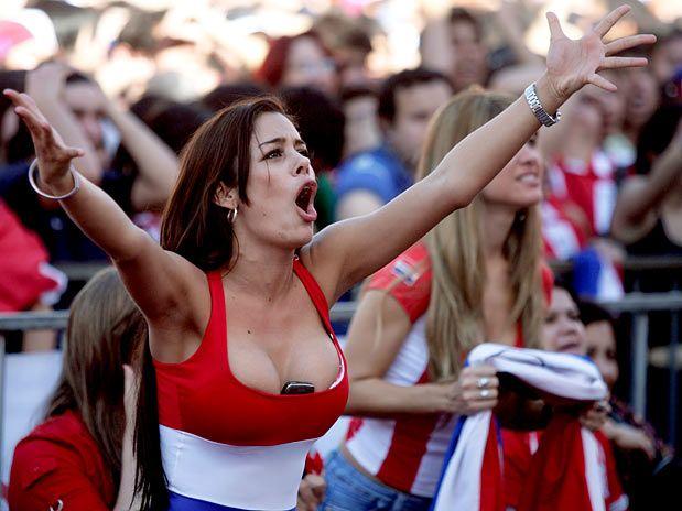 Larissa Riquelme Musa Paraguaia Da Copa Quer Paraguai Na Final
