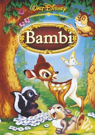 [DVD-R]: Bambi (1942) *zikyto*  [PT-BR] Bambi-poster