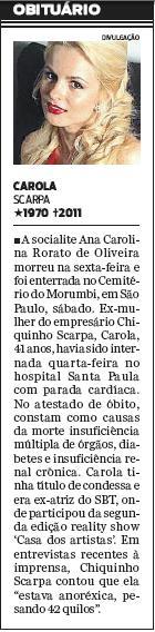 Jornal O Dia, 28.02.2011