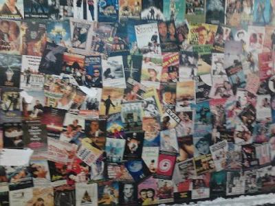 Painel que resiste na galeria da Casa & Vídeo. Foto de 18.04.2011.