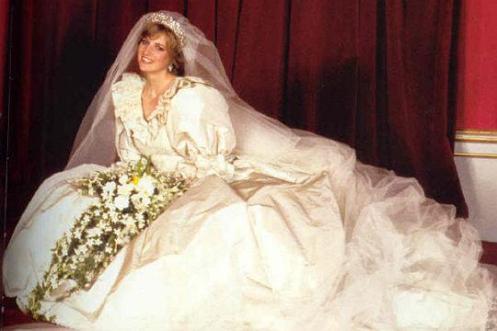 Vestido da Princesa Diana: outro estilo
