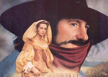 Gerard Depardieu na capa de Cyrano de Bergerac