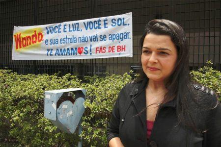 Katiuscia , filha de Wando, em foto de Flávio Tavares (Futura Press)