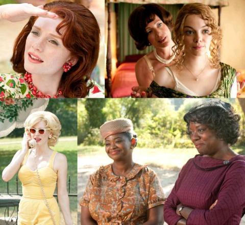 As seis atrizes