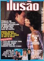 Heloisa Millet em capa de revista com Ney Latorraca
