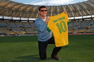 Tom Cruise no Maracanã em março de 2013 (Foto: Eduardo Sarmento)