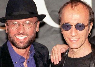 Maurice Gibb e Robin Gibb