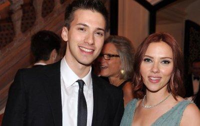 Hunter Johansson e Scarlett Johansson