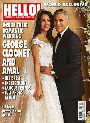 O vestido de Amal