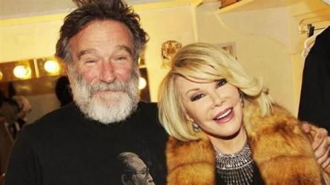 Robin Williams e Joan Rivers