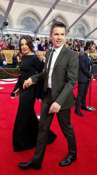 Lorelai Linklater e Ethan Hawke