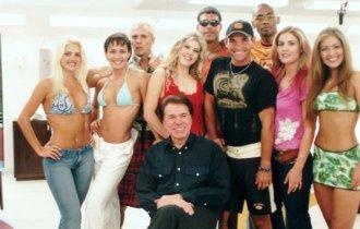 Mateus Carrieri no elenco da Casa dos Artistas,  2001