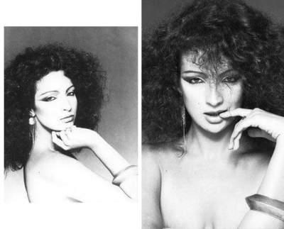 Betty Lago como modelo