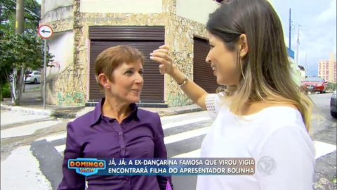 Raquel Coelho no Domingo Show