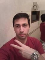 Rodrigo Augusto, o suposto fã, em foto das redes sociais
