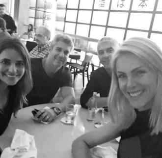 Giovana Oliveira, Guto Correa, Alexandre Correa e Ana Hickmann – Reprodução/Instagram