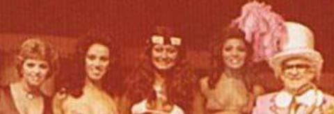 Beth Boné, Rosely Dinamite, Baby Mulher Biônica, Eliana Cobrinha e Chacrinha  na TV Tupi, 1978