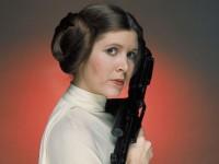 Carrie Fischer como Princesa Leia