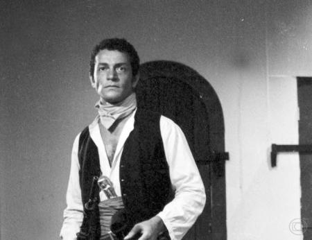Nelson Xavier em Sangue e Areia, 1967