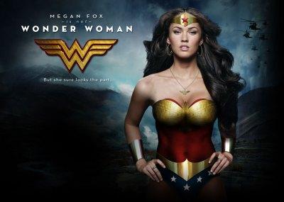 Não, Megan Fox NÃO FOI Mulher Maravilha