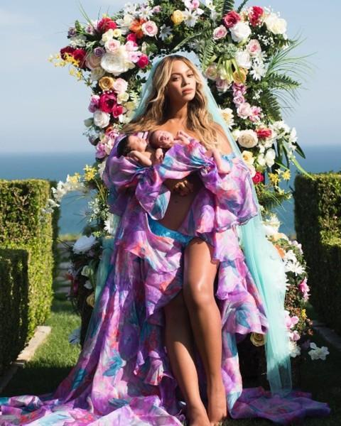 Beyoncé e os gêmeos