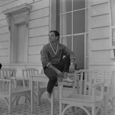 Charles Aznavour no Copacabana Palace em 1959