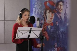 Bruna Guerin dublando Mary Poppins
